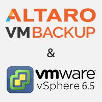 Altaro VM Backup supports vSphere v6.5!