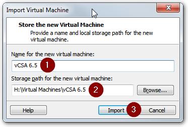Installing vCenter Server Appliance
