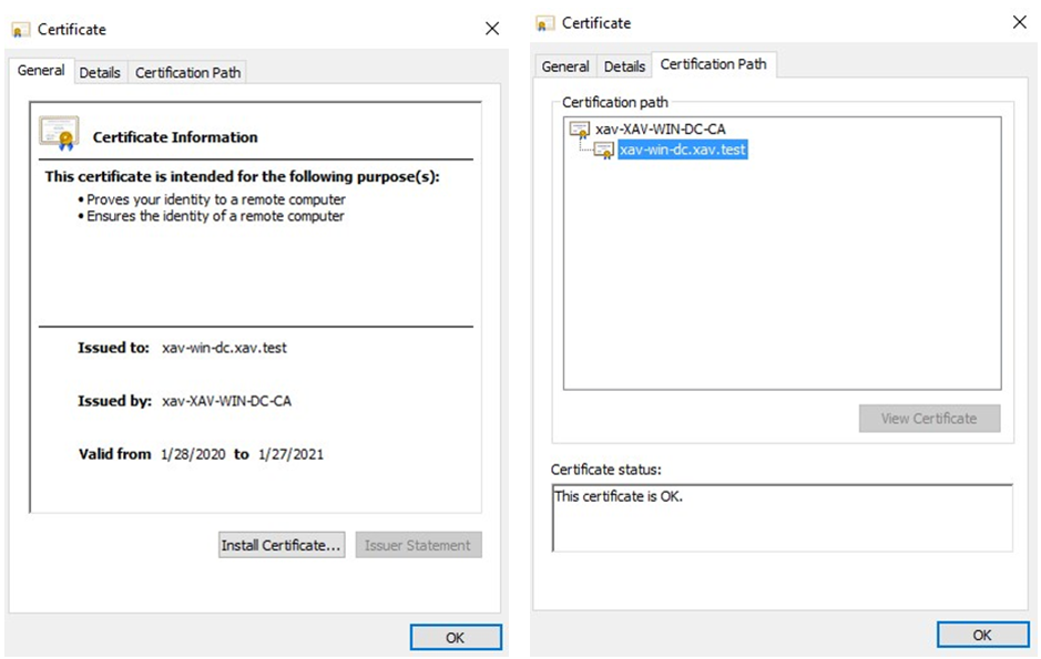 3. Copy and paste the content of the certificate in a notepad