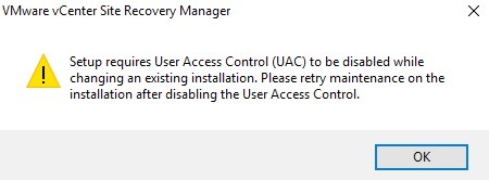 VCenter Site Recovery Manager
