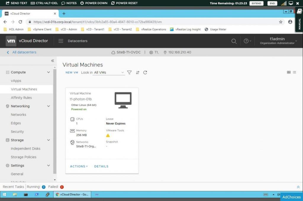 vCloud Suite, vCloud Director