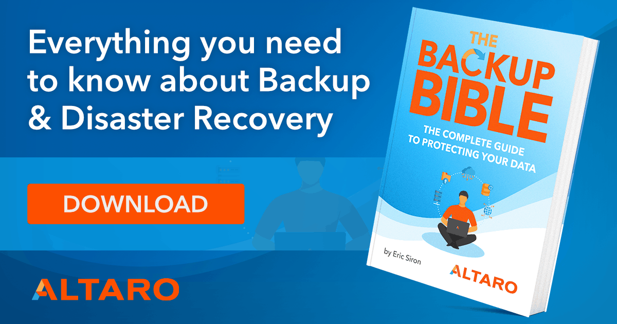 Free eBook - The Backup Bible Complete Edition