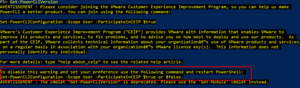 Getting Started with VMware PowerCLI – 7