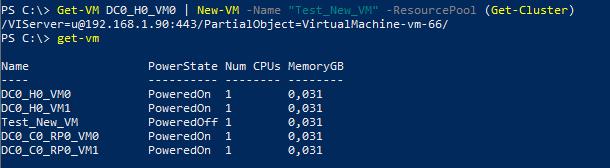 Cloning a VM