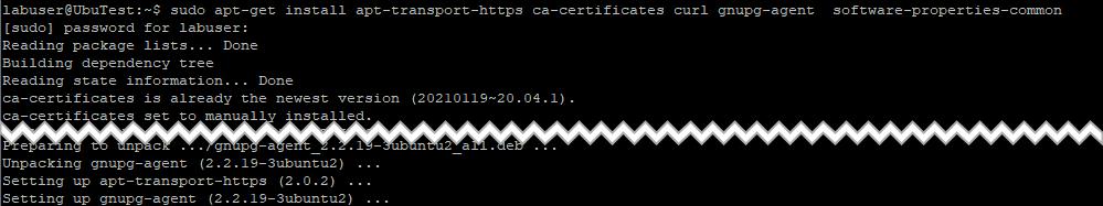 dependencies required for Docker