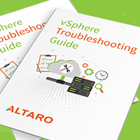 Altaro eBook: VMware Troubleshooting Guide for SMB Admins
